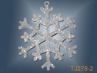 Christmas snowflake ornaments buy christmas snowflake for Big snowflakes decorations