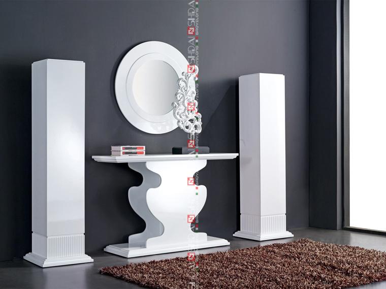 Indian Konsol Modern Meja Dan Cermin Ruang Tamu Set