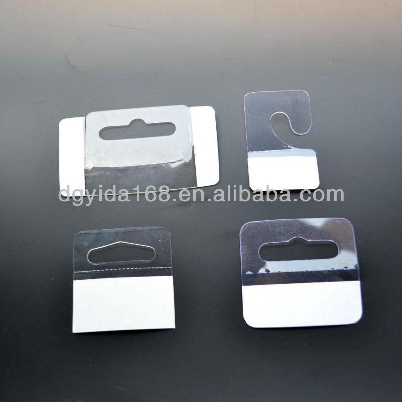 Euro Hole Hanger Pvc Stationery Hang Tabs Plastic Adhesive