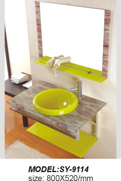 Lavabo de cristal templado buy lavabo de cristal for Lavabo vidrio