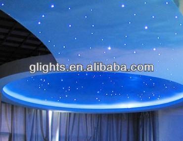 Fiber Optic Starry Sky Effect Ceiling Glass Fiber Optic Led Mesh ...