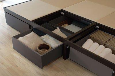 tatami box 2 short box long box bed - Tatami Bed