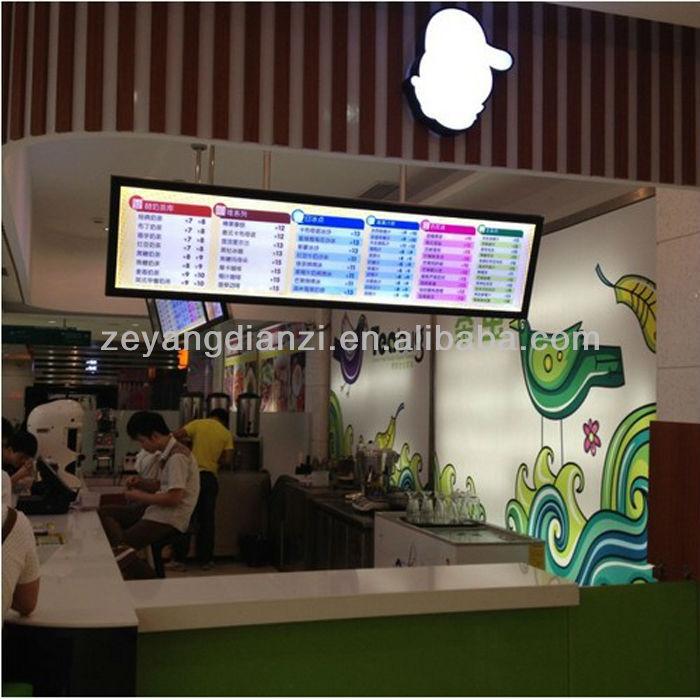 Restaurant Equipment Oled Led Poster Frames Menu Light Box