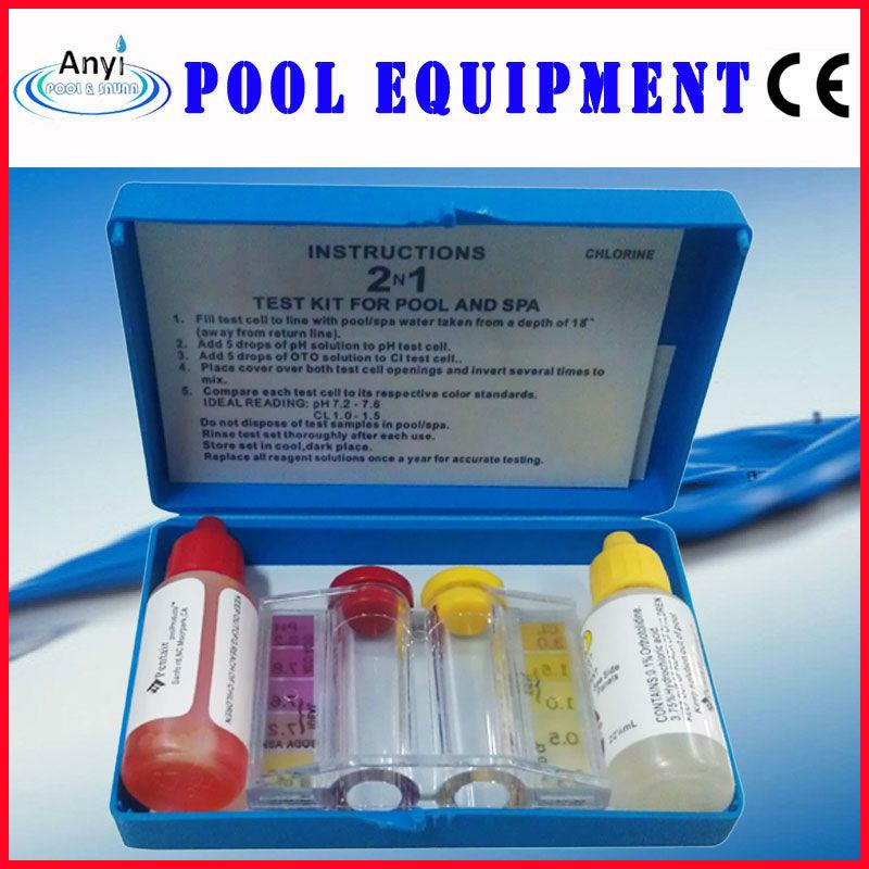 Basic ph cl test kit swimming pool test kits buy ph test kits pool test kits swimming pool for How to test swimming pool water