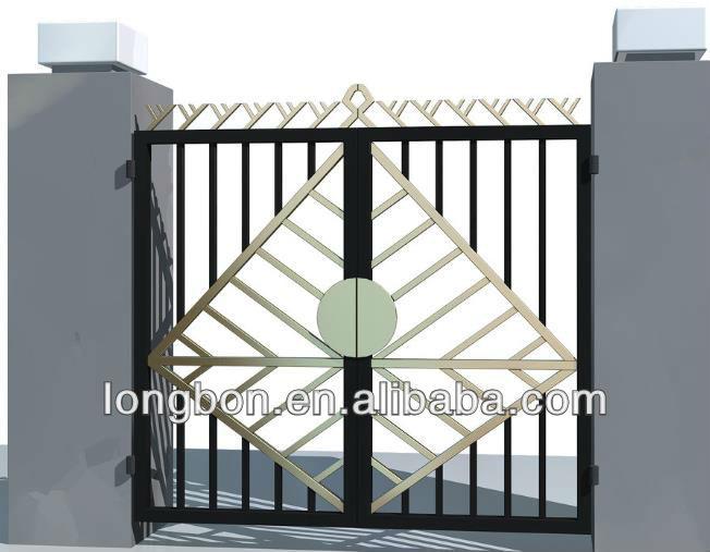 2015 Top Selling Garden Rod Iron Pipe Gate Design Buy