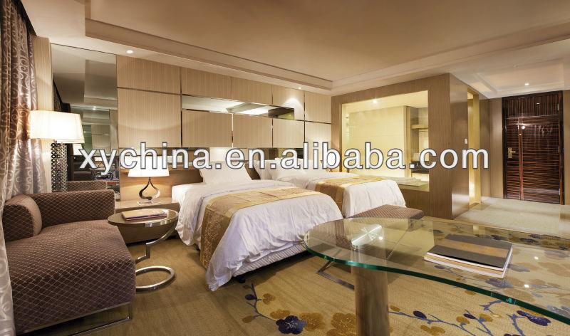 Elegant Hotel Furniture 2015 Luxury Modern Design 5 Star Wooden Bedroom Sets