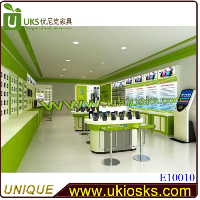 2014 Customized Laptop Kiosk Furniture Computer Shop Interior ...