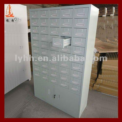 High End 50 Drawers Metal Hospital Pharmacy Medicine Cabinet - Buy ...