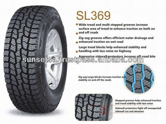 Excellent Structure All Terrain Goodride Tyre 31x10 50r15