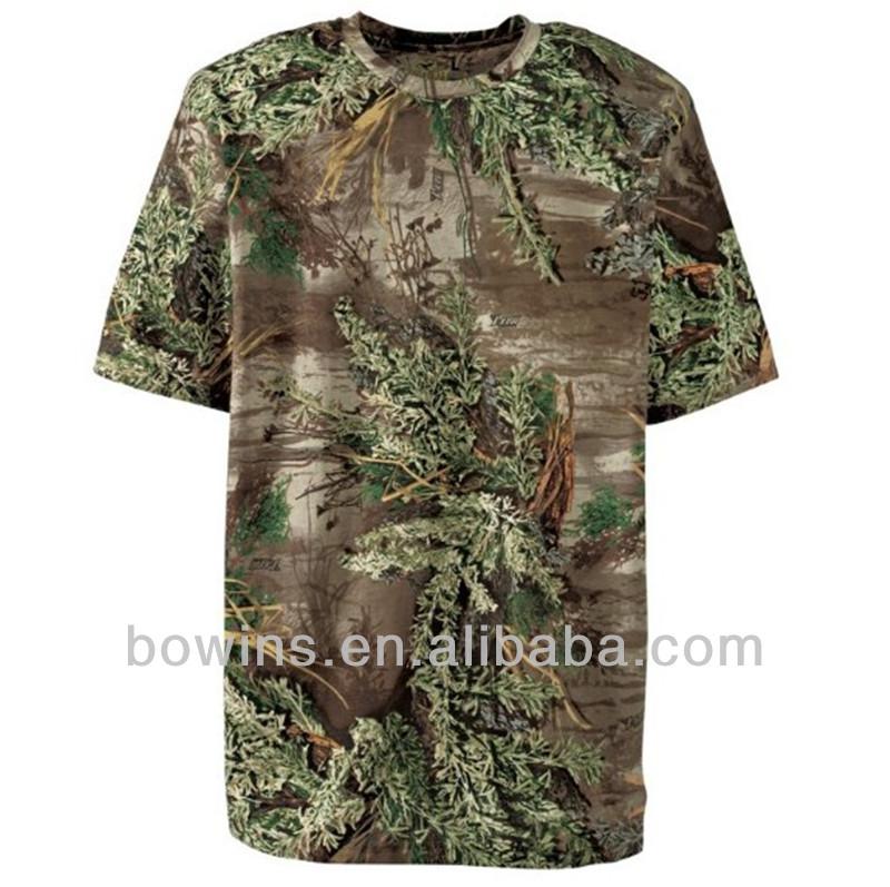 Wholesale Custom Men Hunting Camo T Shirts Buy Camo T