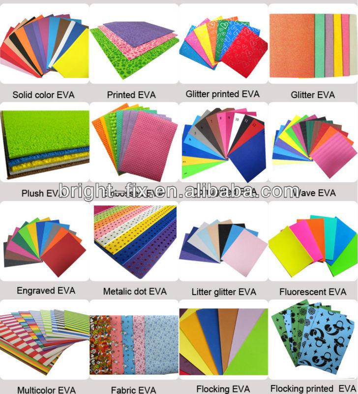 Good Selling EVA Plastic MaterialRubber Foam Sheet For HandcraftWholesale