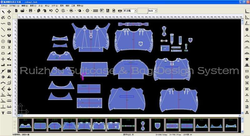 Ruizhou Bag Design Software - Buy Bag Design Software,Suitcase Disign  Software,Suitcase&bag Design Software Product on Alibaba com