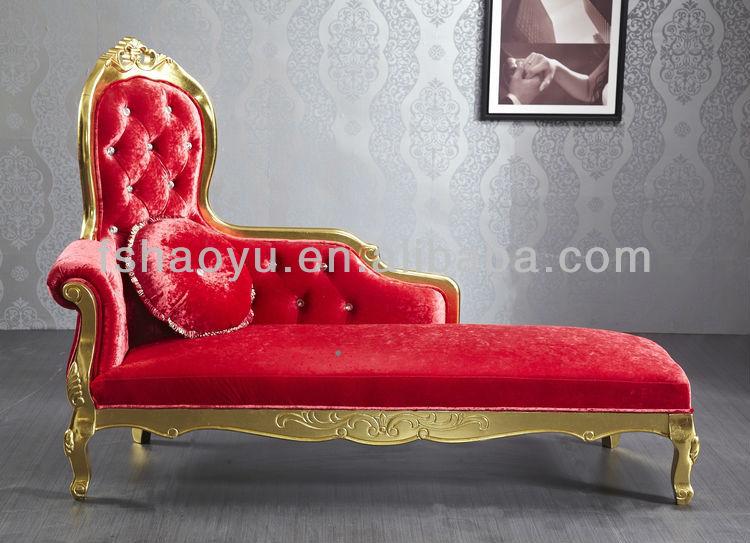 European Style Fabric Royal Chair/european Style Lounge Chair/antique  Chaise Lounge