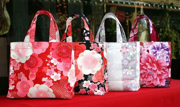 Kimono Fabric Tote Bag - Buy Hand Bag,Tote Bag,Small Bag Product ...