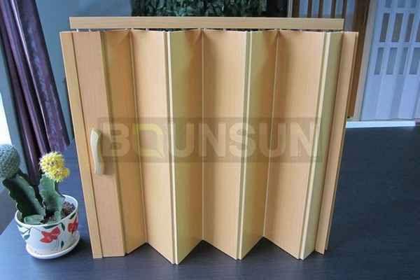 Plastic Folding Doors Interior Door For Separate Room