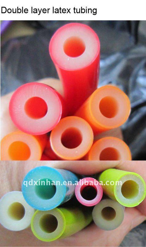 tubing dipped rubber natural latex