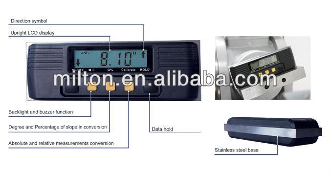 Digital Inclinometer Digital Protractor Smart Tool