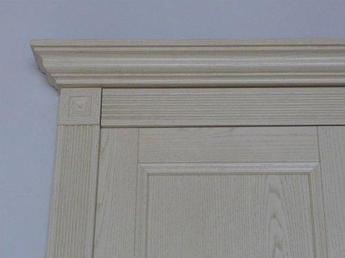 PVC overlaid MDF wrapping decorative wood cornice & Pvc Overlaid Mdf Wrapping Decorative Wood Cornice - Buy Mdf ...