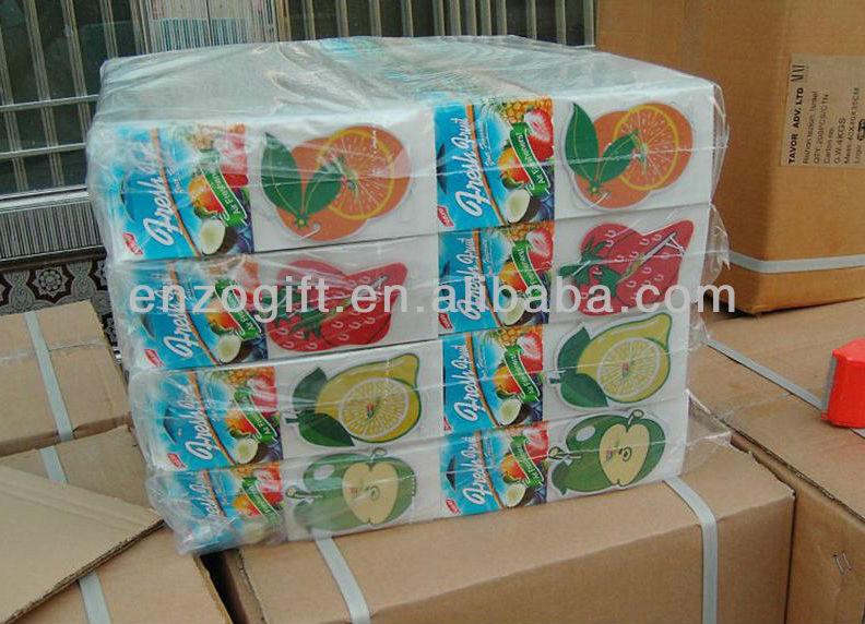 Promotional Hanging Paper Air Fresheners,Custom Paper Car Air ...