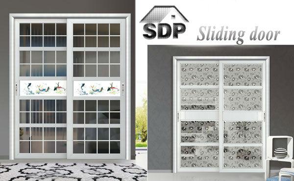 marco de aluminio puertas correderas de cristal para living room
