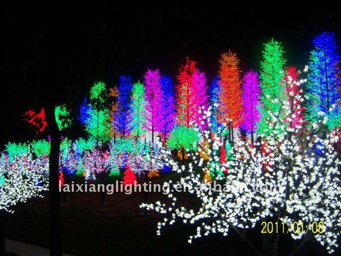 H:9.2ft Pretty Pink Christmas Tree Lights Led/christmas Lights ...