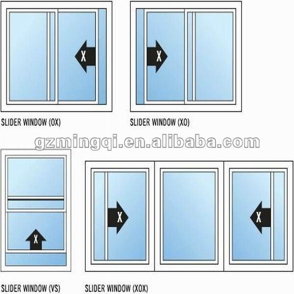 Cheap Price Pvc Sliding Window With Hook Lock Buy Cheap