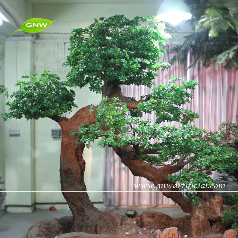Btr024 Gnw Home Decorative Big Artificial Live Ficus Tree Bonsai ...