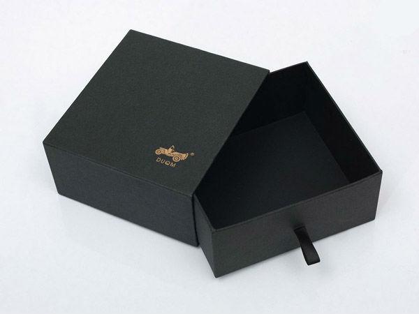 Embossed Brand Shoe Box