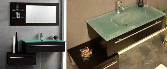 Caliente alto brillo moderno muebles de ba o de madera for Muebles altos de bano