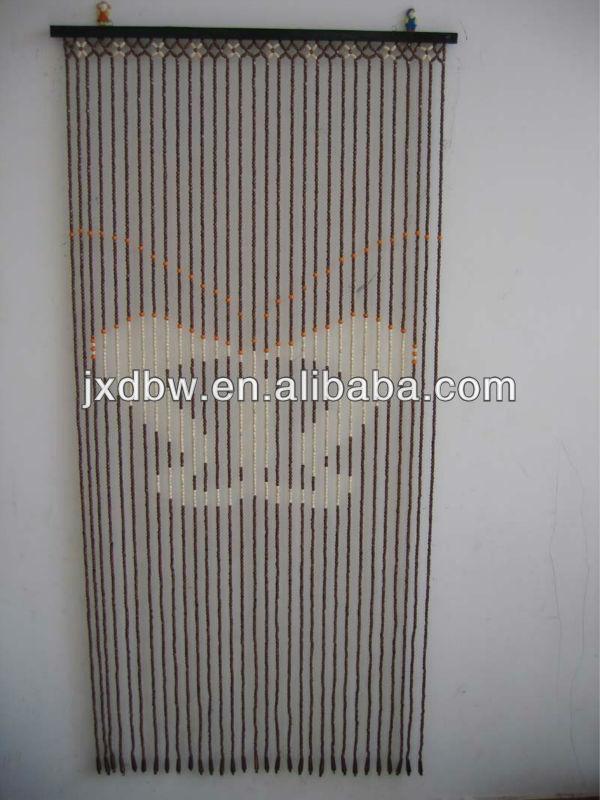 Decorative Wooden Beads Door Curtain Buy Wooden Bead