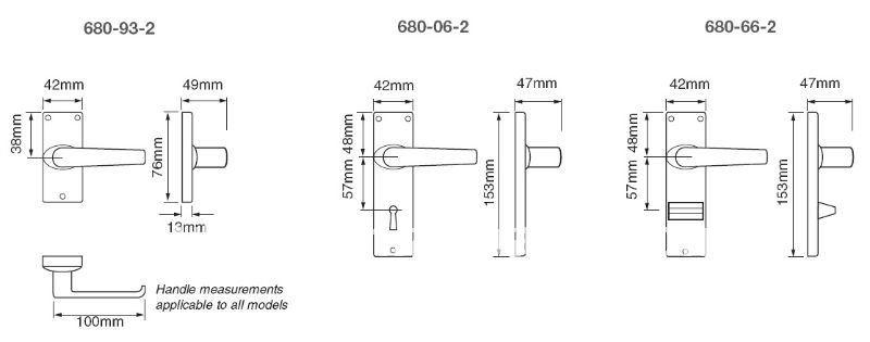 680 2 Lever Mortice Lock Buy 2 Lever Type Locks 680