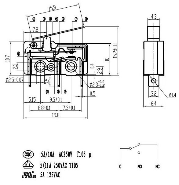 944378924_577 new design mouse micro switch wiring diagram buy mouse micro micro switch wiring diagram at reclaimingppi.co