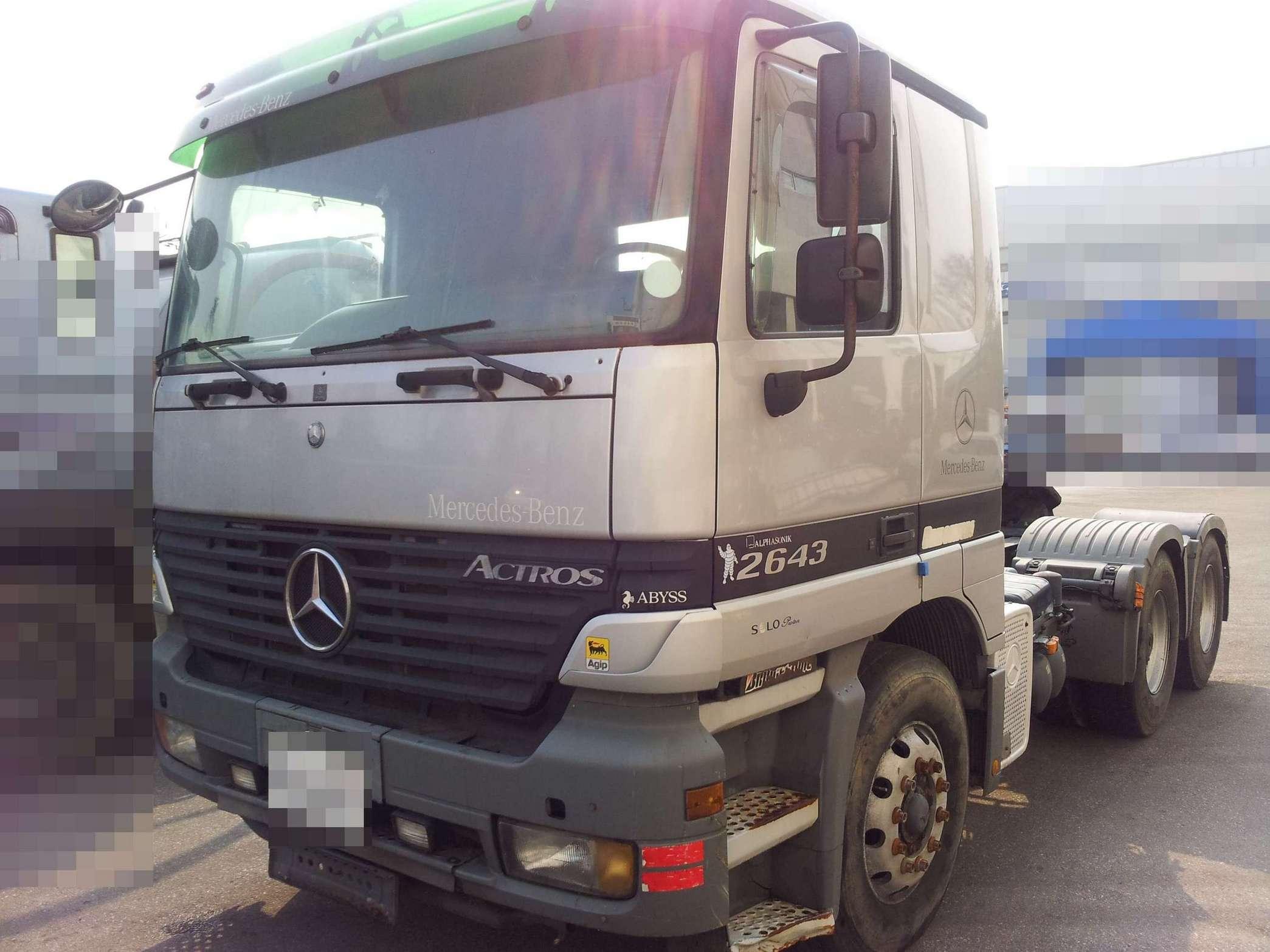 Mercedes benz actros tractor head truck 2643 buy for Mercedes benz of hilton head