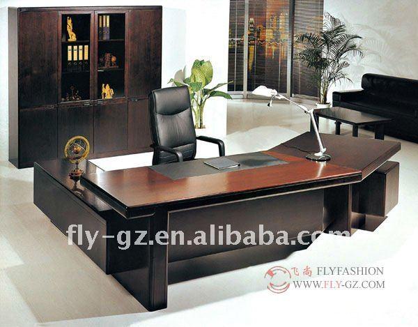 Wooden Office Furniture Executive Director Table Modern Desk Design