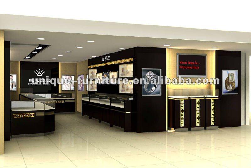 Morden Jewelry Showrooms Design