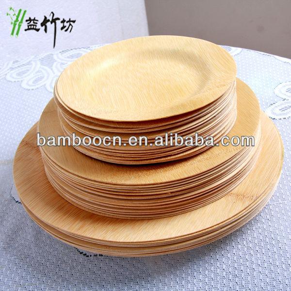 Bambus Einweg Teller Geschirr Fur Die Partei Buy Bambus Platten