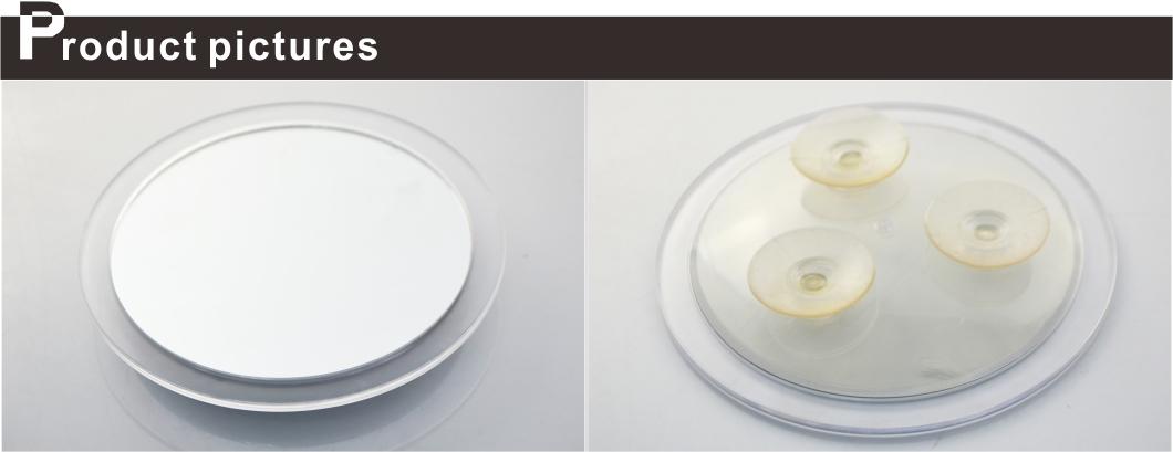 Ronde Plastic 2x/5x/10x Vergrotende Make-up Spiegel Badkamer Met ...