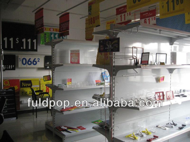 FLD פלסטיק סופרמרקט Thruster בשימוש בחנויות