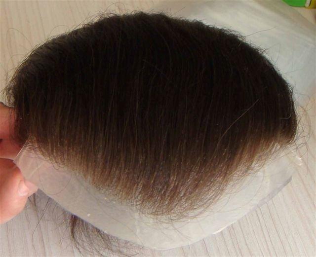 Super Natural High Quality Human Hair Pieces Toupees Hair