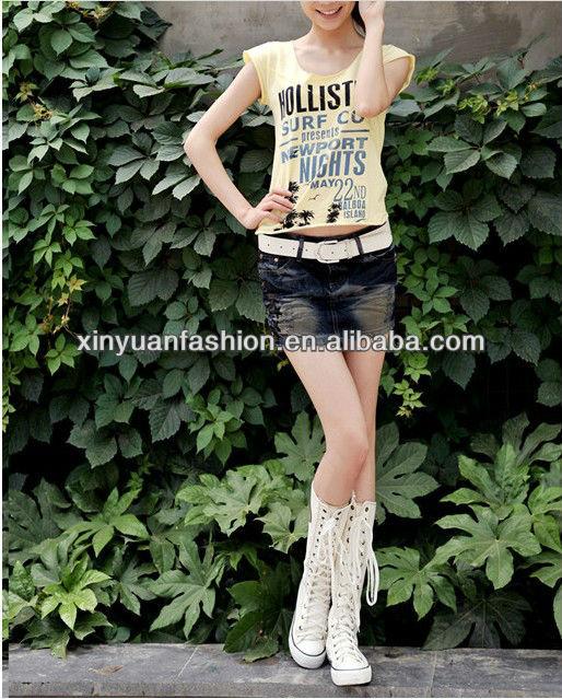 2014 Hot Sale Fashion Designer Teens Ladies Latest Extreme Short ...