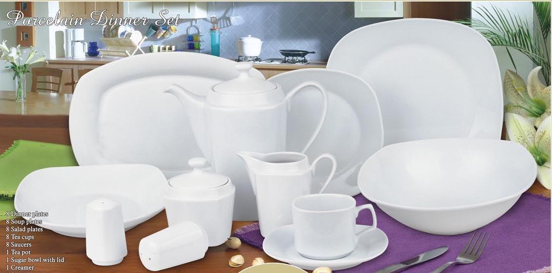 Christmas Bell Porcelain Chinaware Set Ceramic Dinner Set