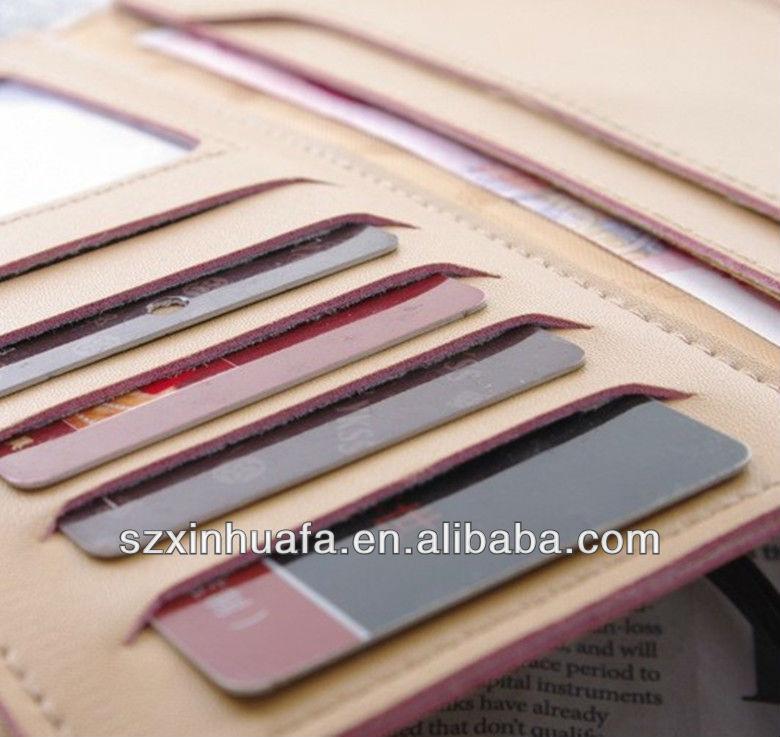 (XHF-WALLET-087) id card holder credit card holder custom leather credit card holder