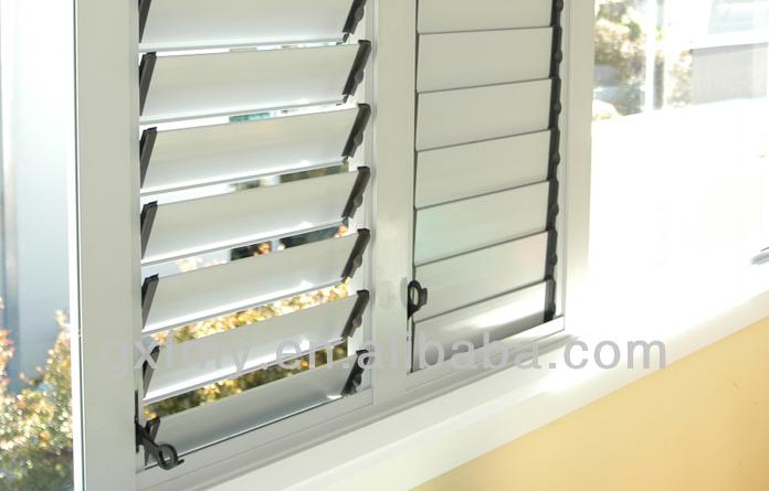 Jalur hias pada jendela aluminium jendela aluminium for Fenetre jalousie
