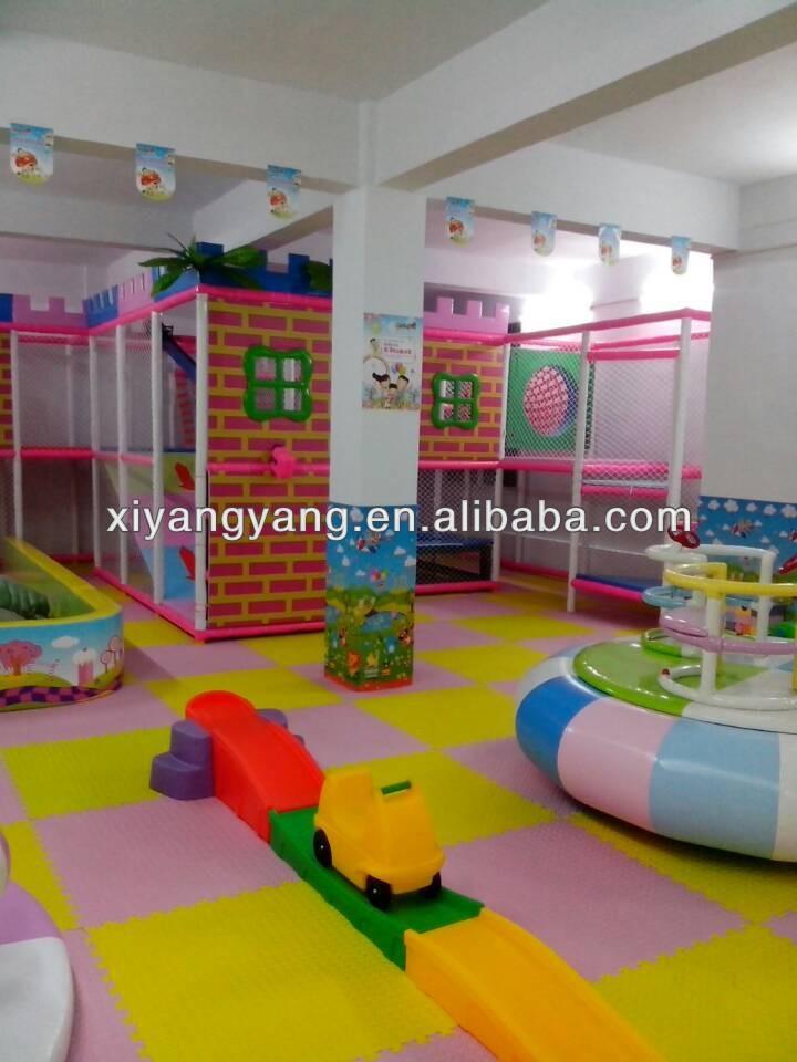 Attractive preschool indoor soft play items kindergarten for Indoor gym equipment for preschool