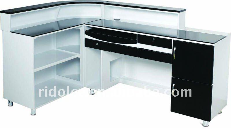 nail salon r ception bureau en bois massif table de bureau design r ceptionniste de table f. Black Bedroom Furniture Sets. Home Design Ideas