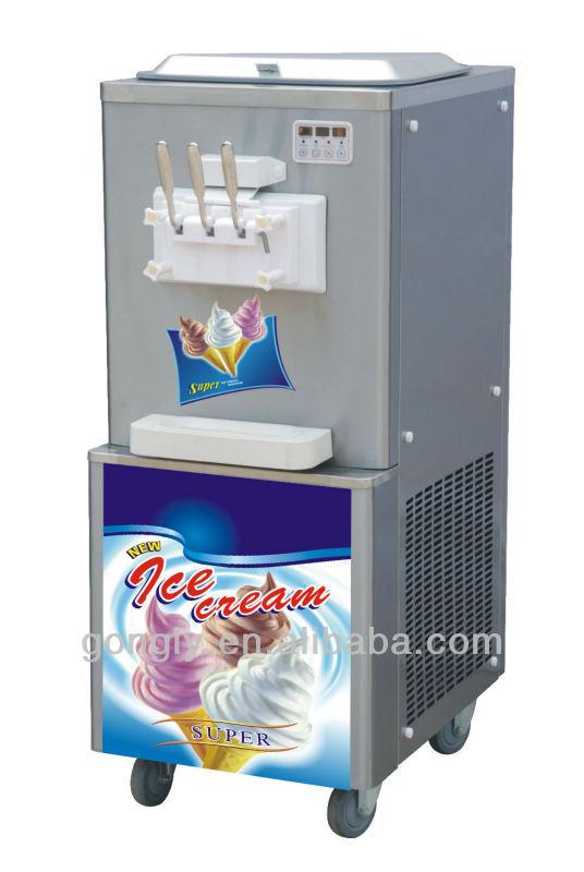 3 Nozzles Commercial Ice Cream Machine Bql-838
