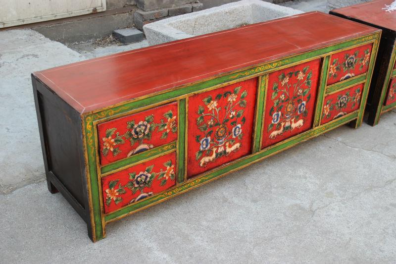 Tv Kast Antiek : Chinese antieke reproductie meubelen tibetaanse tv meubel antiek