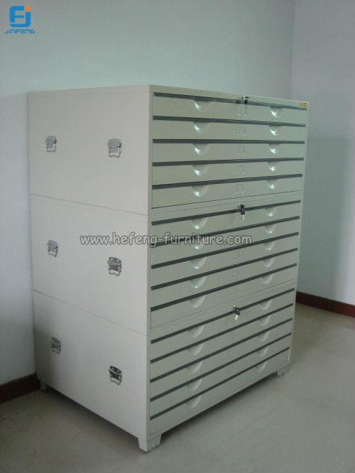 Metal Storage Map Paper Cabinet Drawing Filing Cabinet