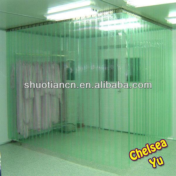 Shuotian High Transparent Freezer Plast Door Curtain,clear Plastic Door  Curtain