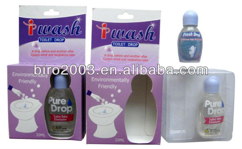 Powerful Pure Drop Toilet Deodorizer Personal Bathroom